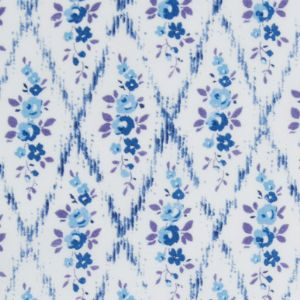 Ceramic Wall Tiles Made With Liberty of London Mae Trellis Rose Blue B